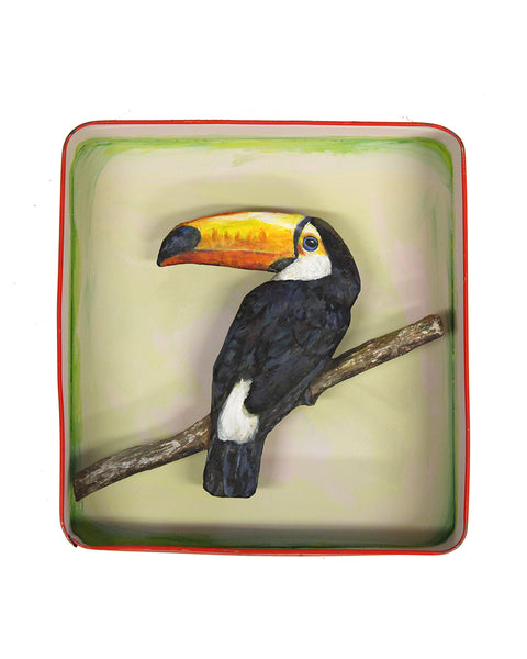 Paper Taxidermy | Toucan