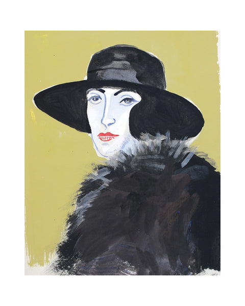 Painted Portrait - VITA SACKVILLE WEST