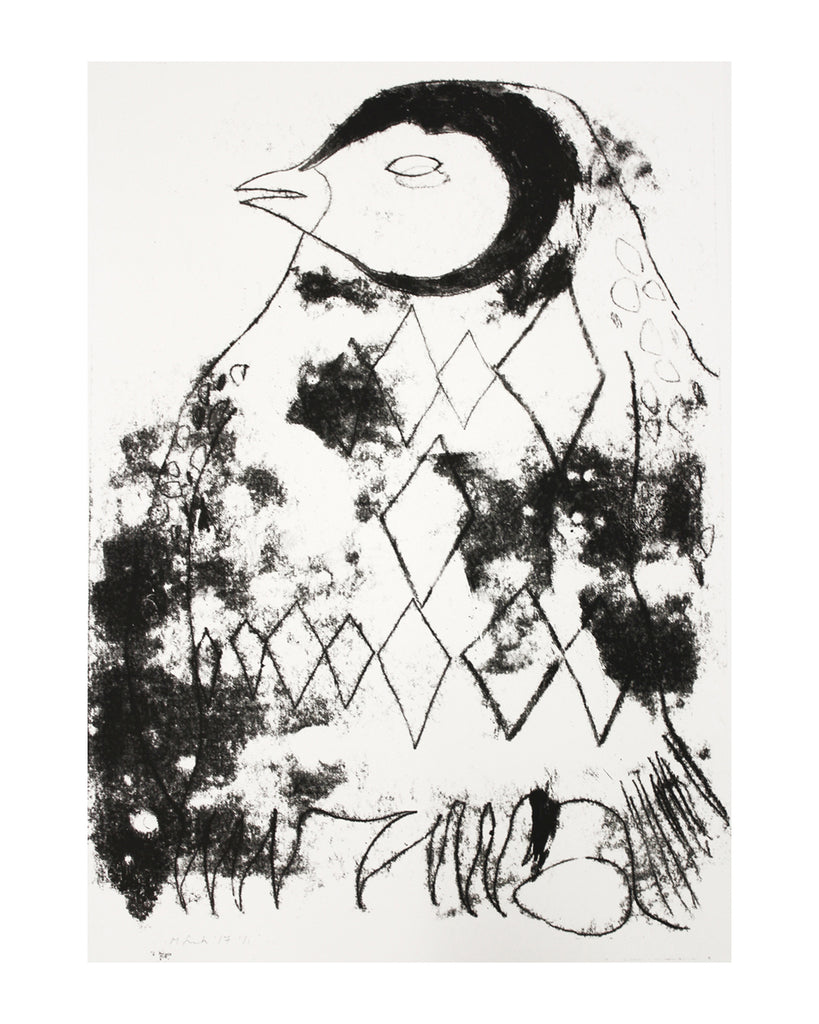 Chaffinch Monoprint The Shop Floor Project