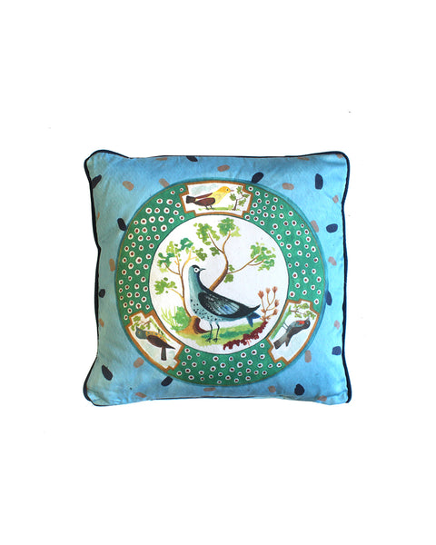 Sèvres Birds Cushion Cover