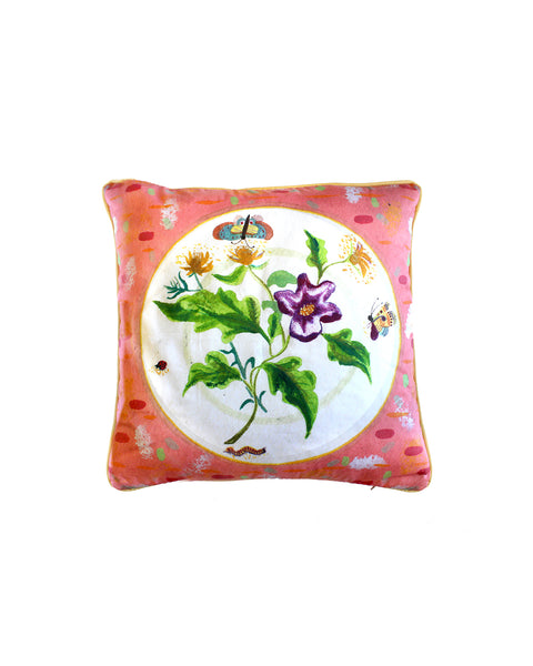 English Summer Cushion Cover