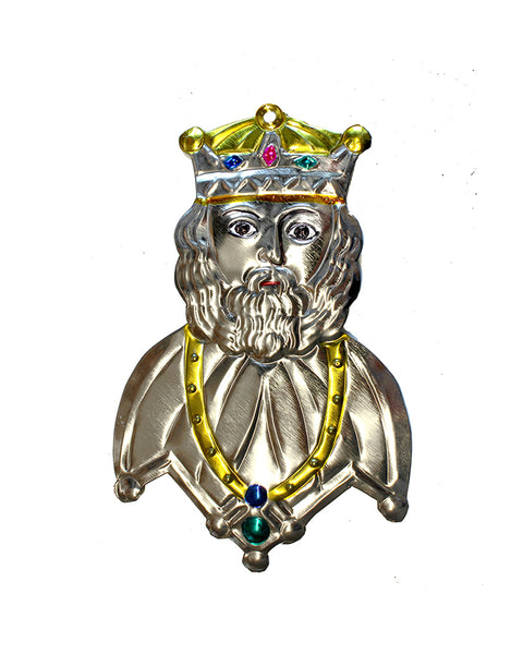 Tin Decoration The King
