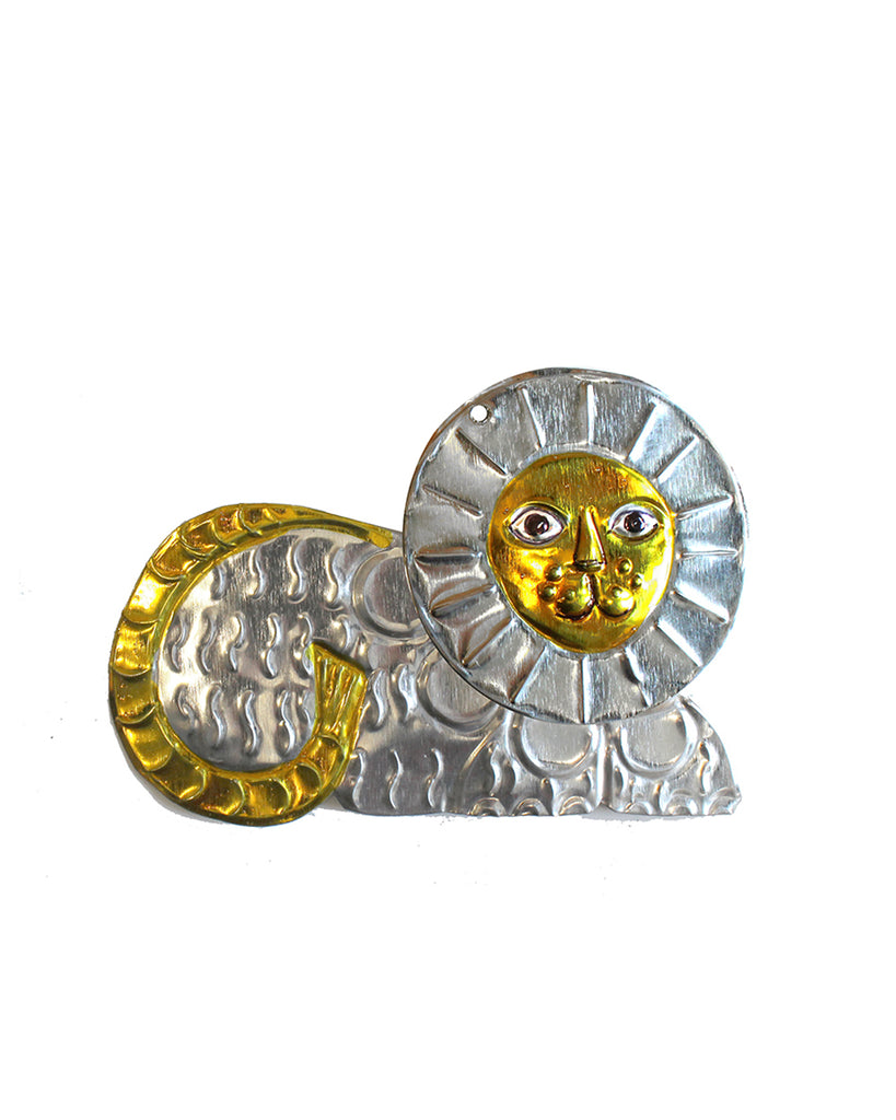 Tin Decoration Lion