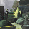 OIL PAINTING | Topiary Statue