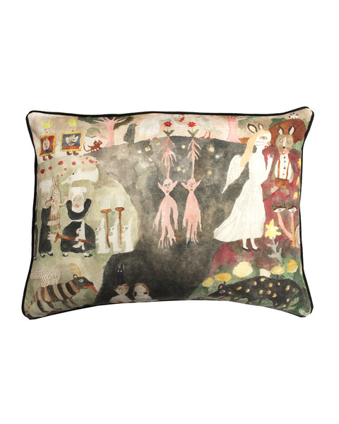 Talking Root Cushion Cover
