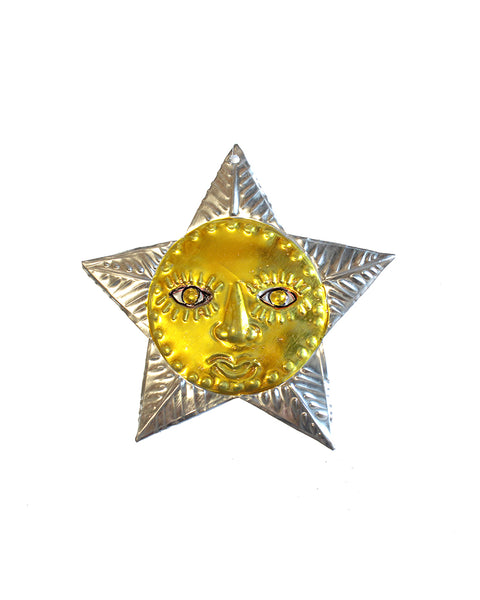 Tin Decoration Star Man
