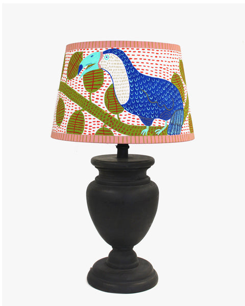Painted Lampshade: toucan
