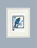 Watercolour: Study for Tile - Blue Parrot