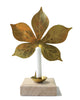 Leaf Candle Sconce - Chestnut