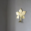 Leaf Candle Wall Sconce - Chestnut