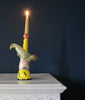 Green Bird Candlestick