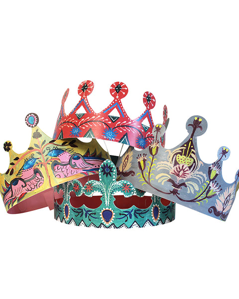 POP OUT CROWNS (SET OF 4)
