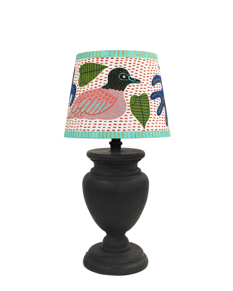 Painted Lampshade: SWIMMING DUCKS