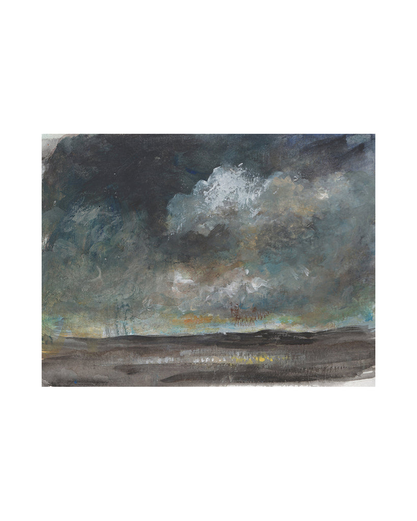 Original Framed Painting - Storm Cloud Study III