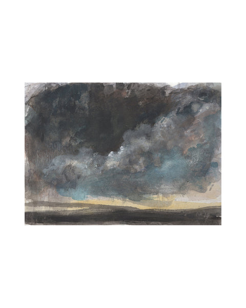 Original Framed Painting - Storm Cloud Study IV