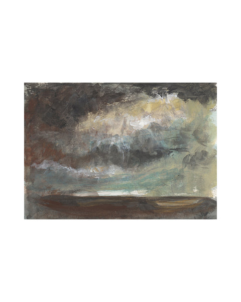 Original Framed Painting - Storm Cloud Study VIIII