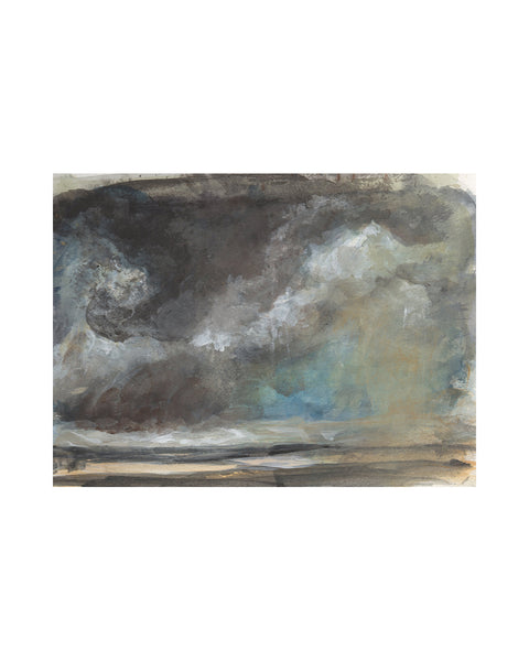 Original Framed Painting - Storm Cloud Study VII
