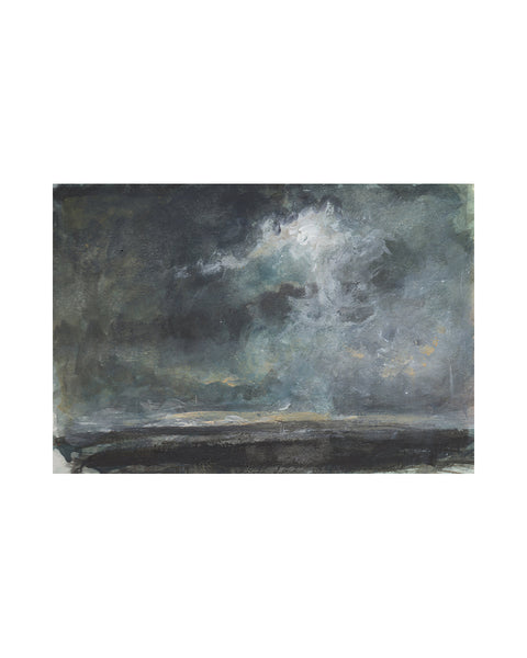 Original Framed Painting - Storm Cloud Study VI