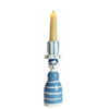 Striped Lady Candle Holder