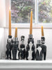 The King (Monochrome) Candle Holder