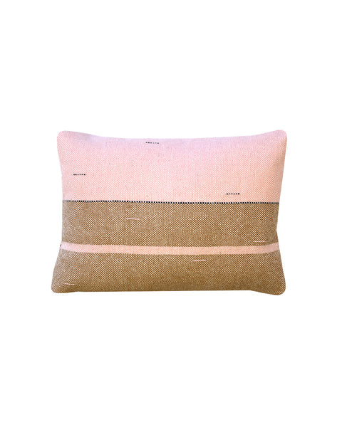 Compost Strata (Cedar) Cushion Cover