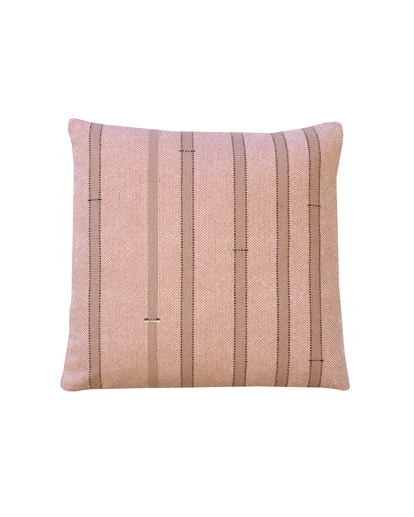 Pea Sticks (Phormium Dark) Cushion Cover