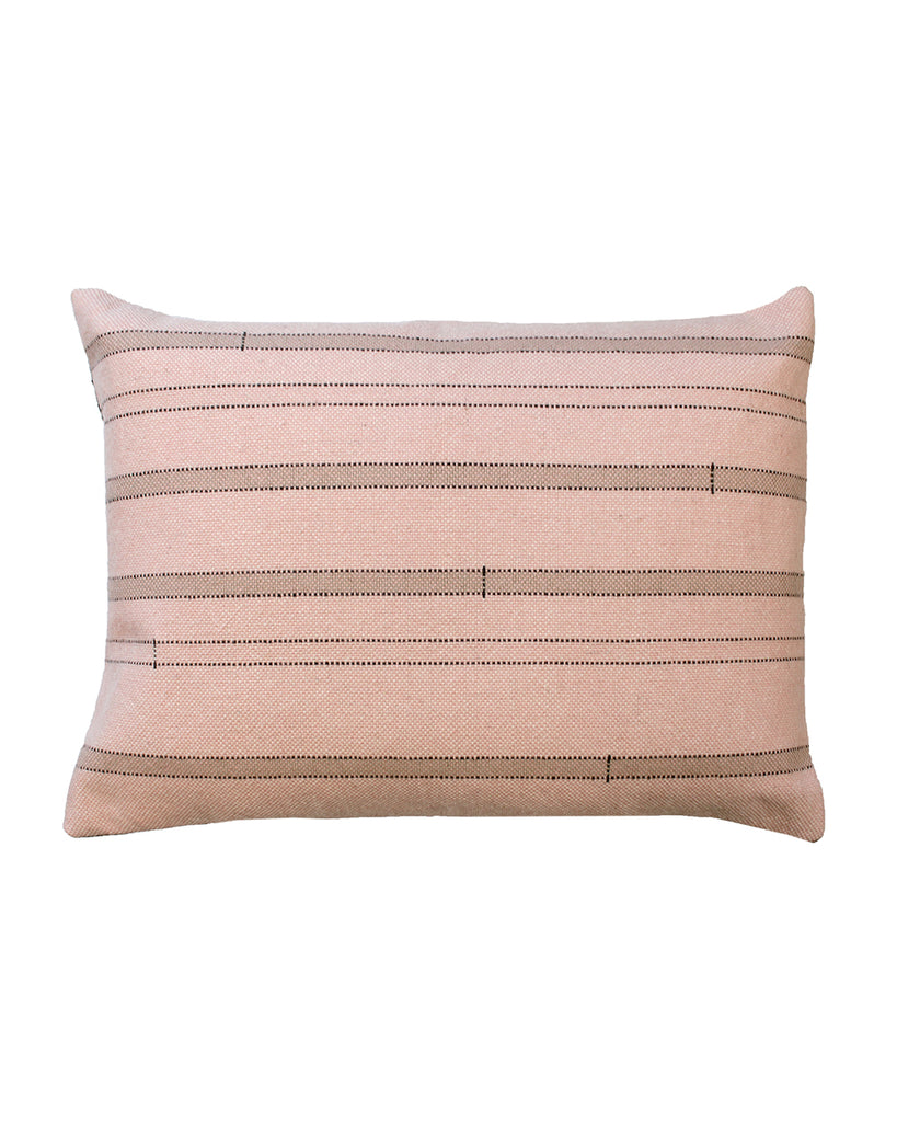Stacked Logs (Light Phormium) Cushion Cover