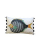 Folk Art Fish No.12 - Cushion Cover