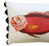 Folk Art Fish No.13 - Cushion Cover