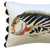 Folk Art Fish No.18 - Cushion Cover