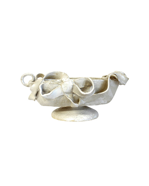 Footed Bow Bowl