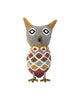 Animal No.7: Very Large Owl (Grey Diamond)