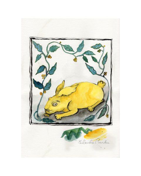 Study for Tile - YELLOW HARE