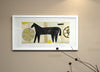 Framed Collage: Black Country Horse 5