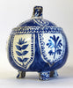 Apple Shape Delft Lidded Pot
