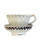 Fluted Cup and Saucer No. 2