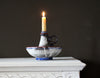 French Blue Candle Holder
