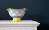 Yellow Frilled Edge Bowl
