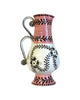 Pink Garland Double Handle Jug