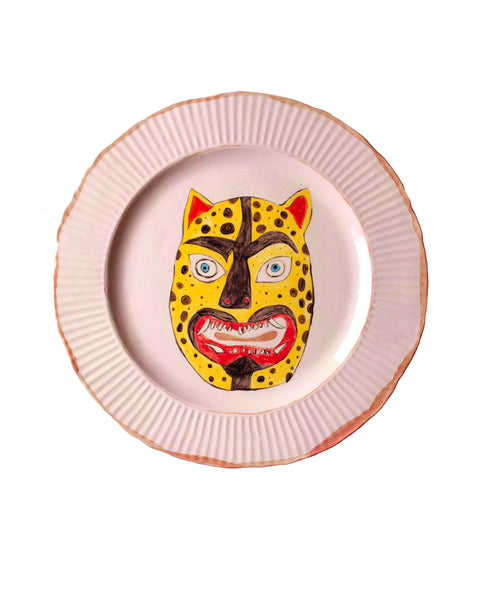 Leopard Mask Plate