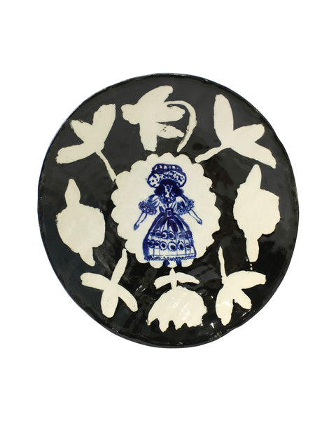 Delft Woman Plate No. 17 - Aunty Betty