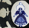 Delft Woman PLATE No20