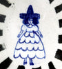Delft Woman PLATE No22