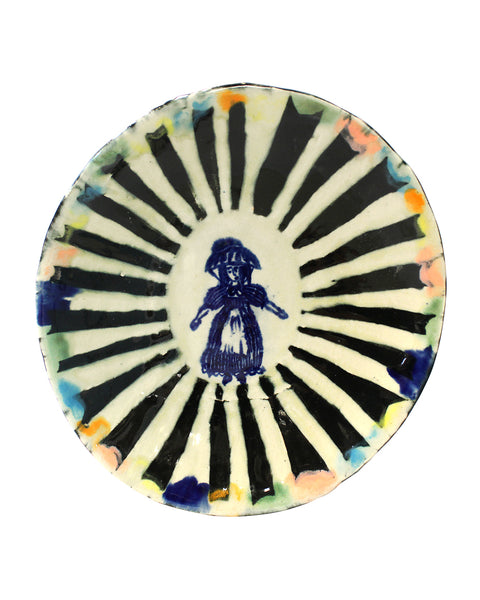 Delft Woman PLATE No23