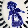 SALE: Delft Woman Plate No. 23 - Nancy