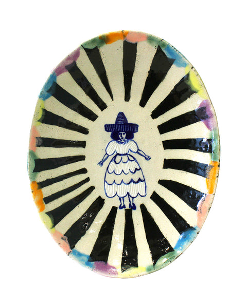 Delft Woman PLATE No35