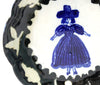 Delft Woman PETAL PLATE No9