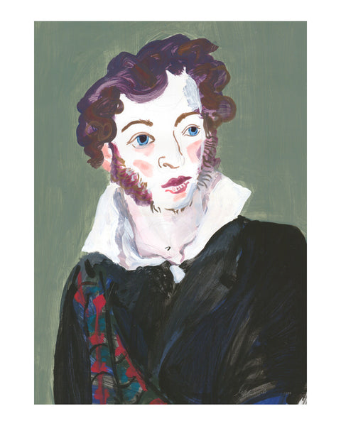Painted Portrait - Alexander Pushkin