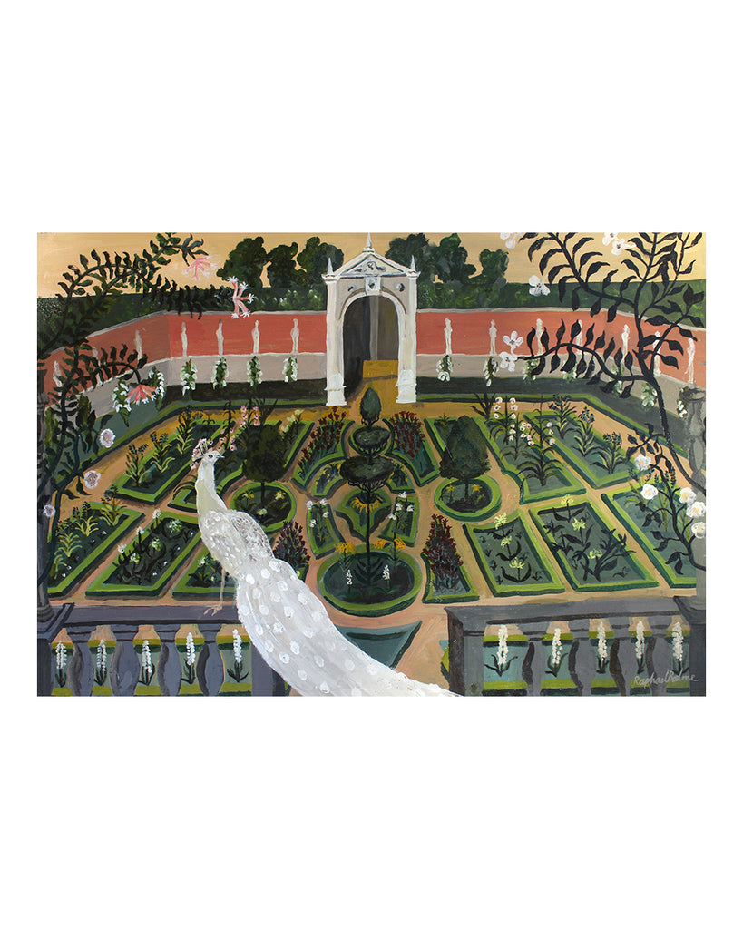 OIL PAINTING | The Knot Garden