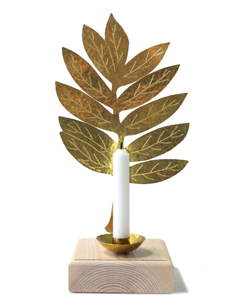 Leaf Candle Sconce - Rowan